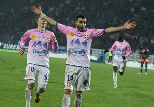 Evian a sombré à Lille