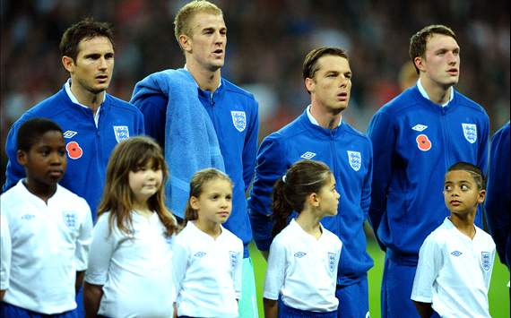 England national team