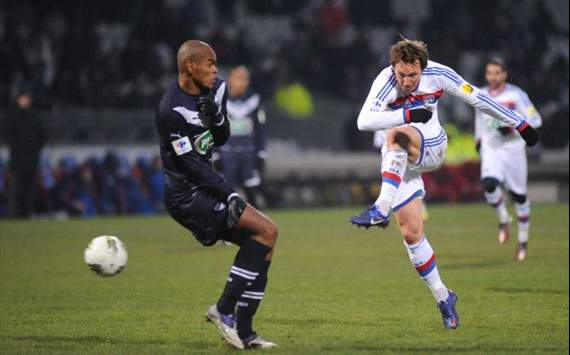 Kim Kallstrom, Lyon vs Bordeaux