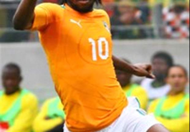 Arsenal forward Gervinho scores twice for Ivory Coast