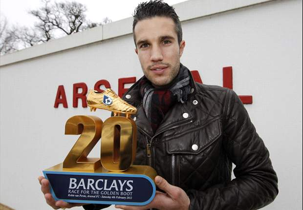 Van Persie wins Premier League Golden Boot