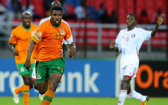 CAN 2012 : Christopher Katongo (Zambia vs Sudan)
