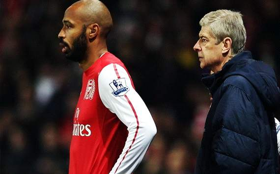Wenger still considering Henry loan