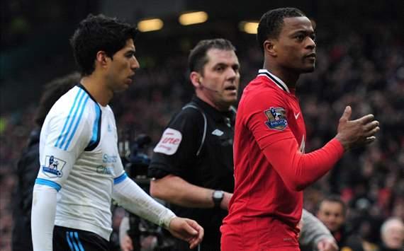 Luis suarez Vs Evra , Liverpool & Manchester united