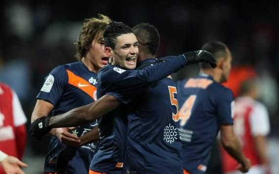 Ligue 1 : Henri Bedimo & Remy Cabella (Montpellier)