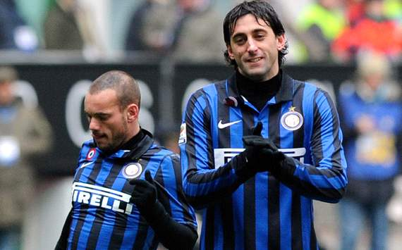 Sneijder &amp; Milito - Inter (Getty Images)