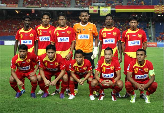 Selangor skipper Amri Yahyah and teammate Bunyamin Omar punished