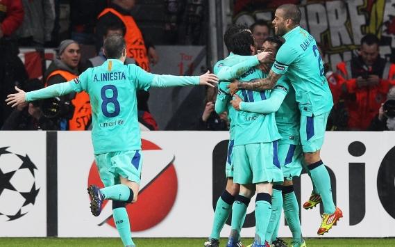 Christian Tello en el FC Barcelona-Real Sociedad de la Liga BBVA