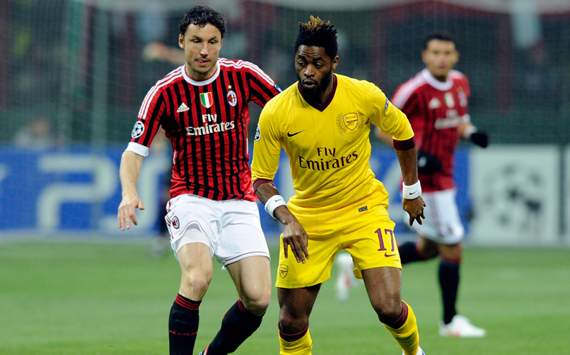 Mark Van Bommel & Alex Song