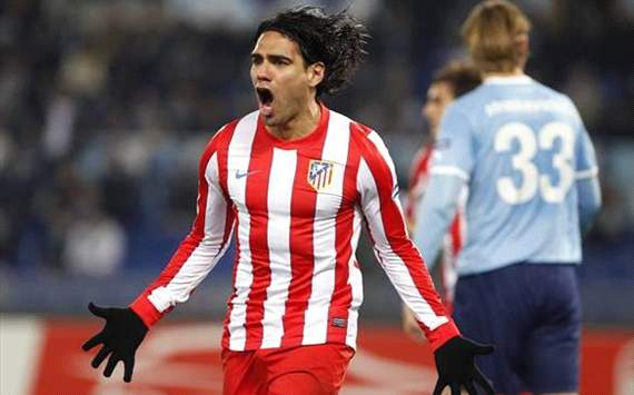 Atletico Madrid's Falcao: Lazio tie is not over yet