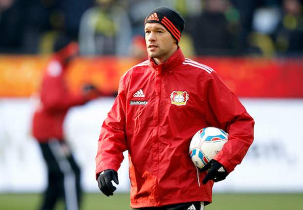 Agent: Ballack would love to play for New York Red Bulls but team want Stephen Ireland