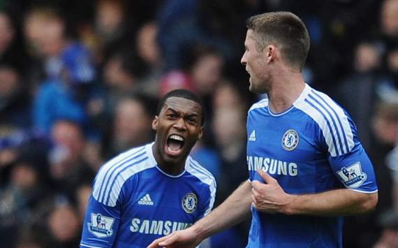 Chelsea vs Leicester 2-0 Salomon Kalou all Goals