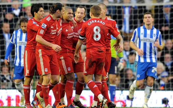 FA Cup: Glen Johnson, Liverpool v Brighton & Hove Albion