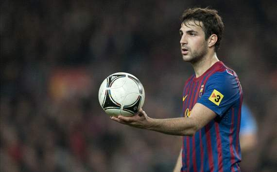 Fabregas fit to face AC Milan