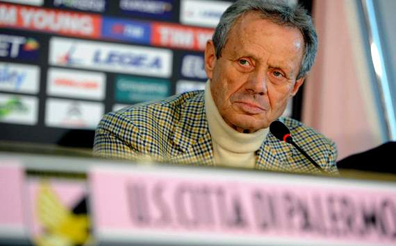 Zamparini: AC Milan can't even buy brioche in the morning so Balzaretti will never be Rossonero