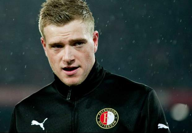 Manchester City striker John Guidetti to demand talks over his future as Feyenoord look to extend loan deal