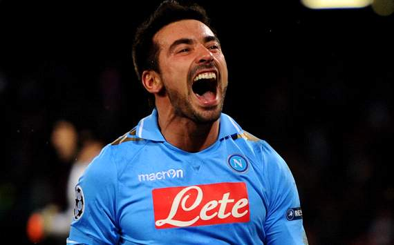 We are interested in Lavezzi, says PSG scout Ciaschini