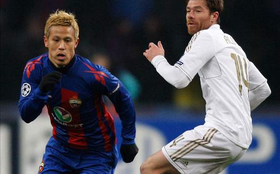 CSKA reportedly offer Honda an extra €1 million per year
