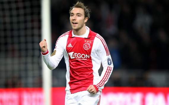 Christian Eriksen is committed to Ajax, says agent