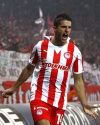 Super League, Kevin Mirallas, Olympiacos Piraeus v Panathinaikos FC
