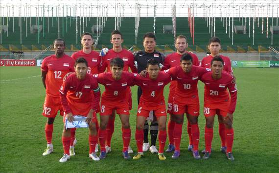 Singapore national team, vs Azerbaijan