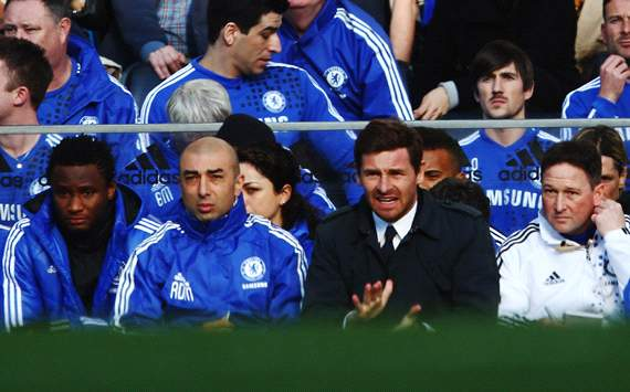 EPL: Andre Villas-Boas, Chelsea v Bolton