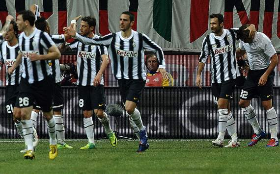 Juventus celebrating (Getty Images)
