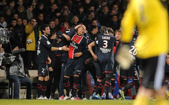 Ligue 1, Lyon vs PSG, Guillaume Hoarau
