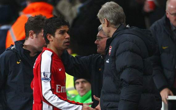 FA Cup, Eduardo; Arsene Wegner, Arsenal Vs Cardiff City