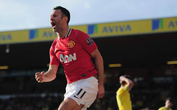 EPL - Norwich City v Manchester United, Ryan Giggs