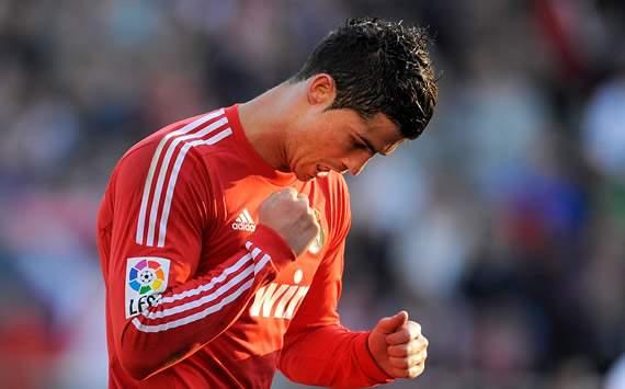 Liga BBVA: Rayo Vallecano- Real Madrid: Cristiano Ronaldo