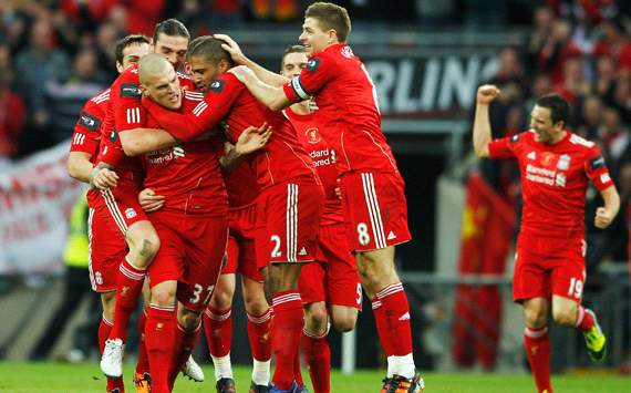 Carling Cup: Martin Skrtel, Liverpool v Cardiff City