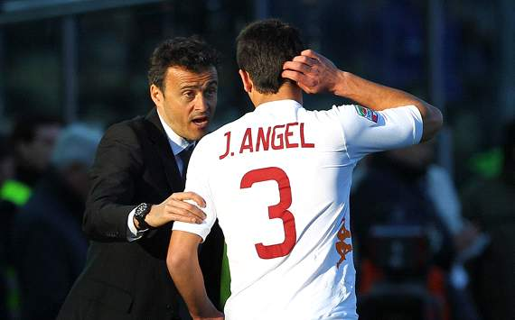 Luis Enrique, Josè Angel - Roma (Getty Images)