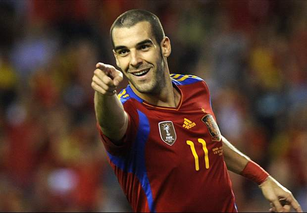TEAM NEWS: Negredo starts ahead of Cesc and Torres for Spain's clash with Portugal