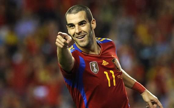 Negredo con España