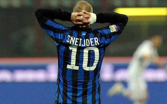 A Champions League hero and a treble protagnist, Wesley Sneijder is being treated unfairly by Inter Milan