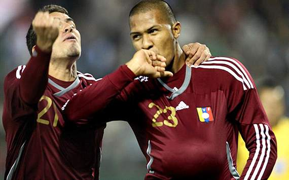 Official: Rubin Kazan sign Salomon Rondon from Malaga