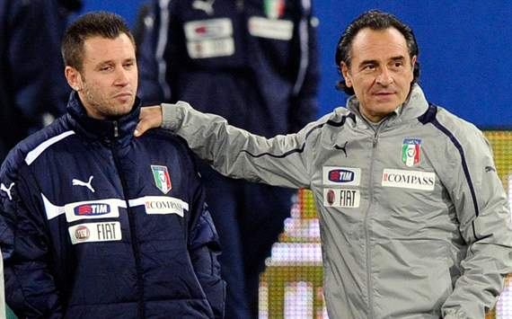 Prandelli: If Cassano is ready for AC Milan then he is ready for Italy