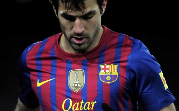 Vilanova: I am to blame if Fabregas is not at his best