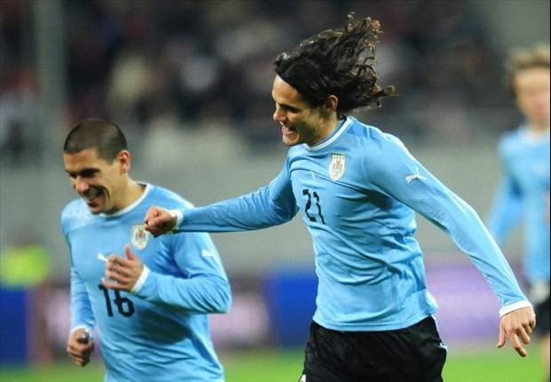 Suarez and Cavani named in Uruguay squad for Olympics