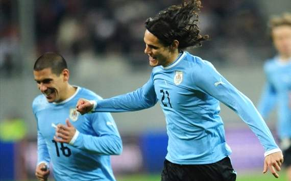 Cavani & Suarez make the cut as Uruguay finalise Olympic squad