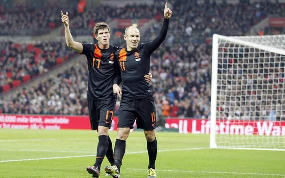 Belanda singkirkan ego England, kalah di Wembley