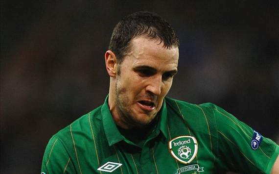 John O'Shea excited about first international tournament at Euro 2012 and prospect of quarter-final clash with England