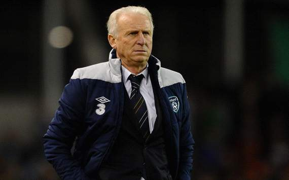 Giovanni Trapattoni of Republic of Ireland 