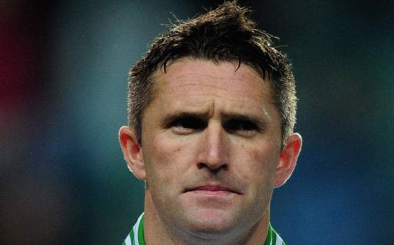 Robbie Keane of Republic of Ireland