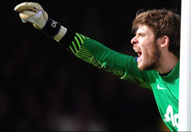 Carrick: Strong De Gea improving all the time at Manchester United