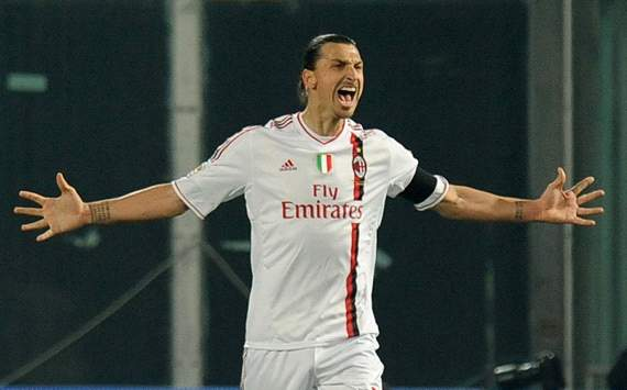 Zlatan Ibrahimovic - Palermo-Milan (Getty Images)