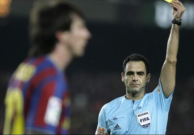 Spain's understanding official - Euro 2012 referee Carlos Velasco Carballo