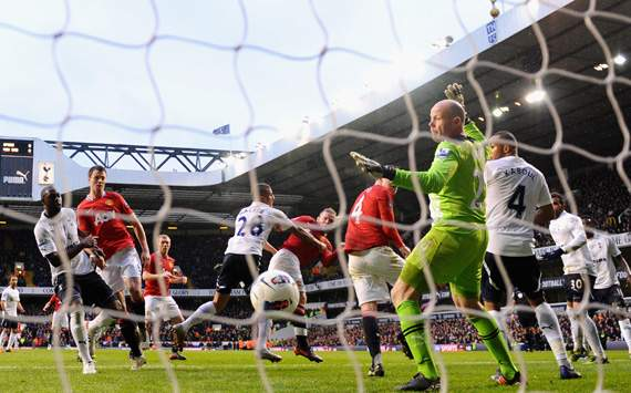 EPL,Wayne Rooney,Tottenham Hotspur v Manchester United