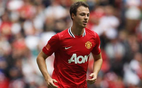 FA Community Shield, Jonny Evans, Manchester City v Manchester United